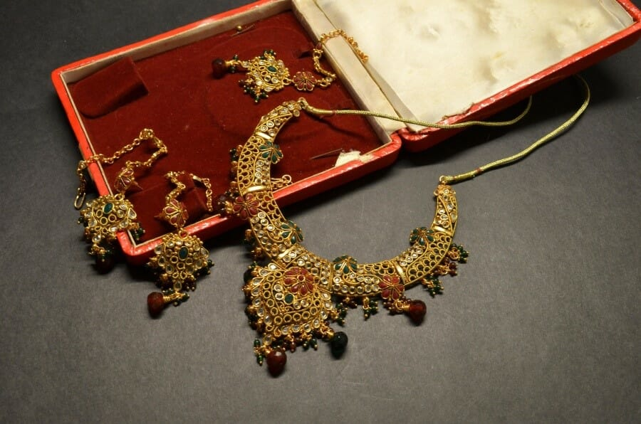 Traditional South Asian jewelry